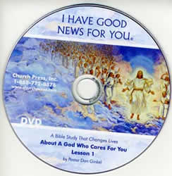 I Have Good News for You Audio Tapes, CD's  and DVDs